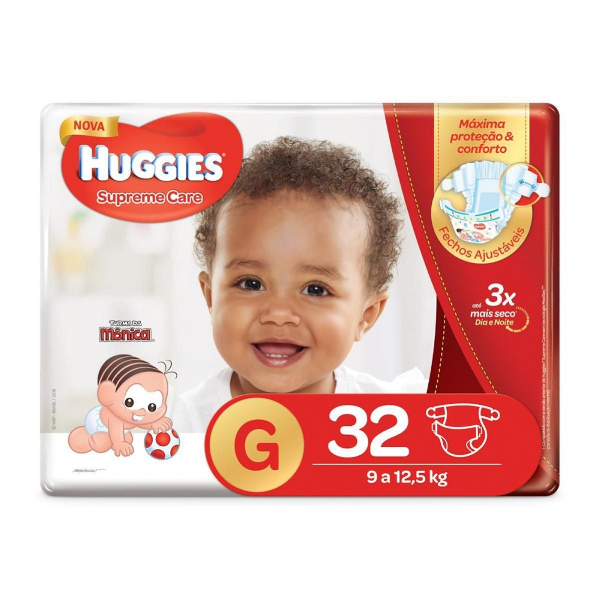 Fralda Huggies Supreme Care G - 32 Fraldas