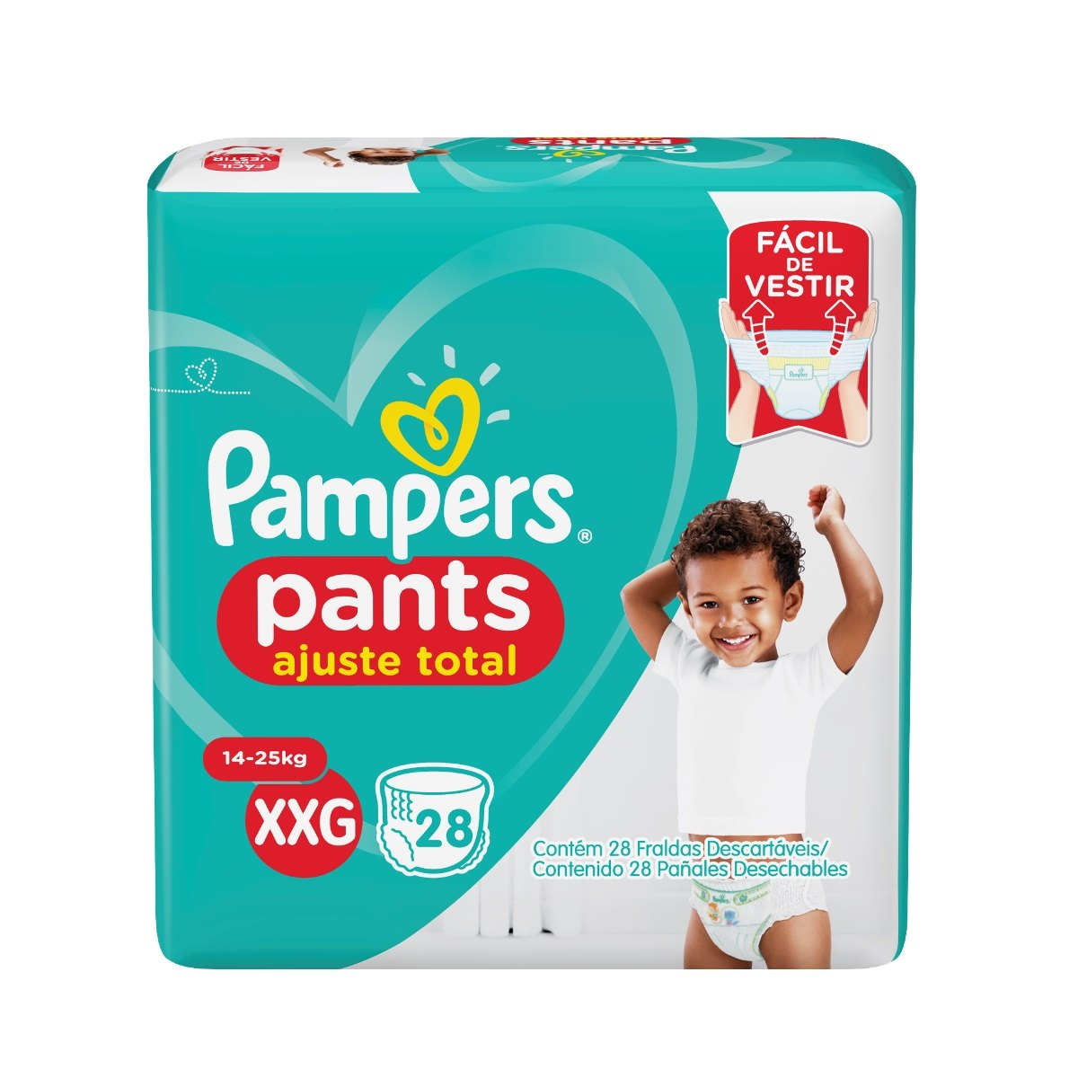 Fralda Pampers Xxg Pants 28 Unidades