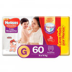 Huggies Fralda Supreme Care Roupinha Hiper G, 60 Fraldas